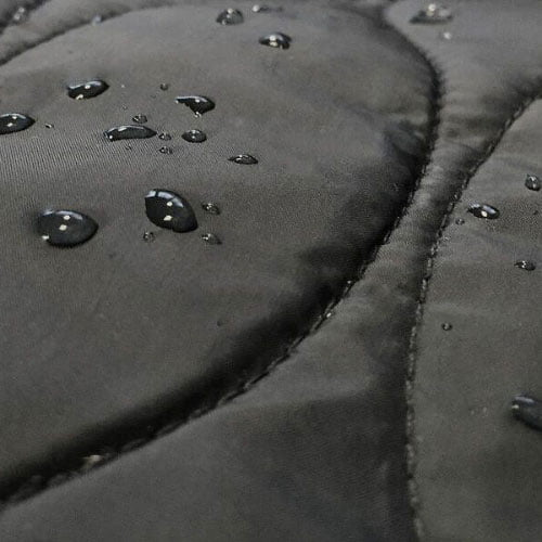 Details of the qiviut jacket