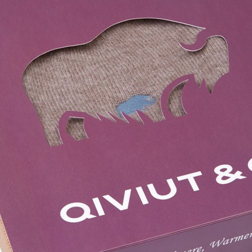 the qiviut beanie hat