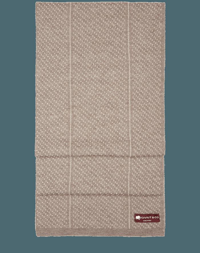 Glacier qiviut scarf by QIVIUT & CO