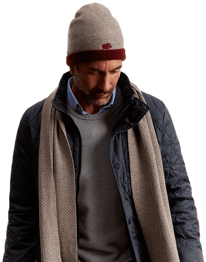 qiviut scarf and beanie hat - best present this Christmas
