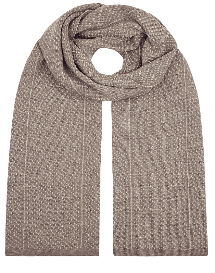 Glacier qiviut scarf by QIVIUT & CO. Luxury boxed for the perfect present