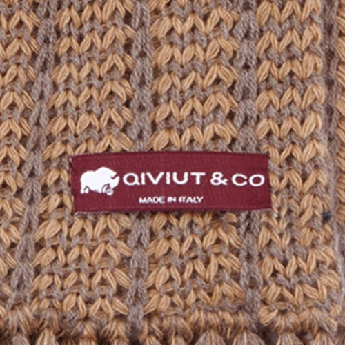 Made in Italy qiviut scarf by QIVIUT & CO