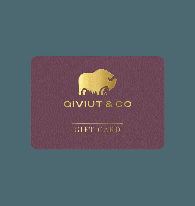 Qiviut Gift Card
