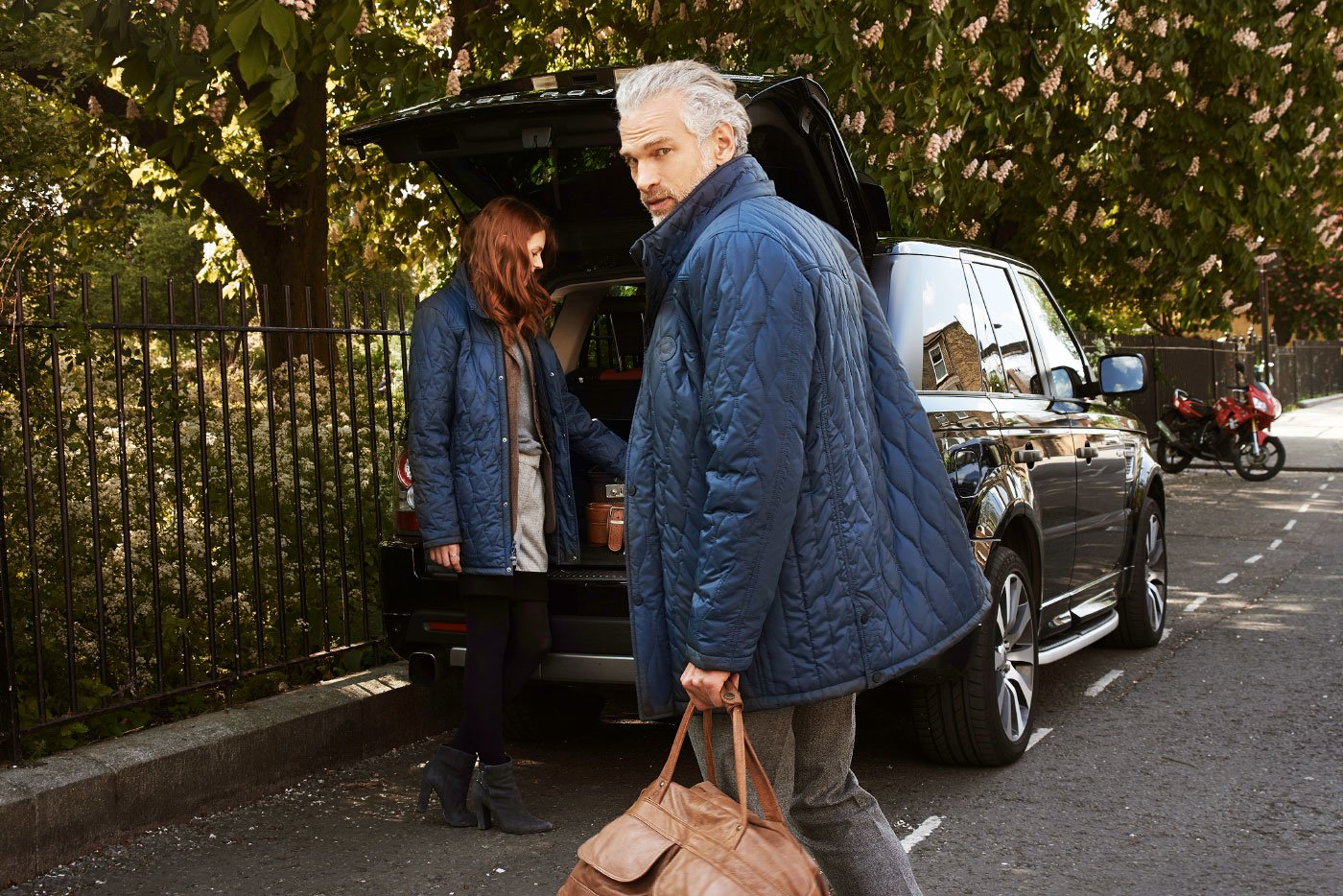 The Qiviut Jacket man and woman range rover