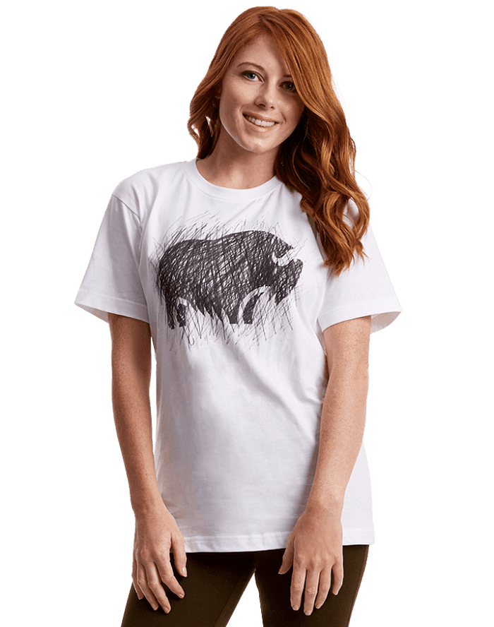 the qiviut and co t shirt